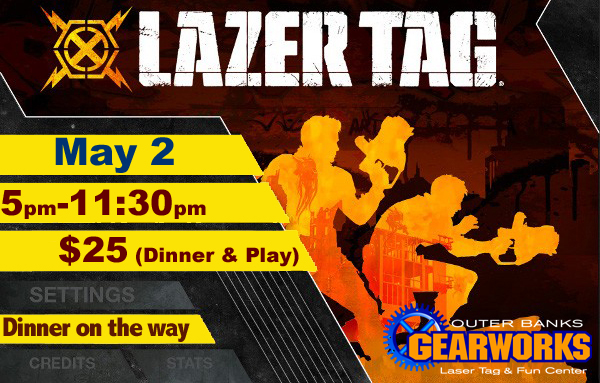 Lazer Tag May 2nd